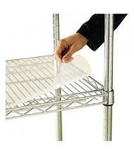 """Alera SW59SL4818 48"""" W x 18"""" D 4-Pack Clear Plastic Shelf Liners"""