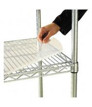 """Alera SW59SL4824 48"""" W x  24"""" D 4-Pack Clear Plastic Shelf Liners"""