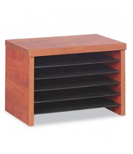 "Advantus 10"" D Valencia Under-Counter File Organizer, Cherry"