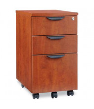 Alera Valencia VA572816MC Mobile Box/Box/File Pedestal File, Medium Cherry