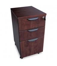 Alera Valencia VA572816MY Mobile Box/Box/File Pedestal File, Mahogany