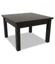 Alera Valencia VA7520BK Black Corner Occasional Table