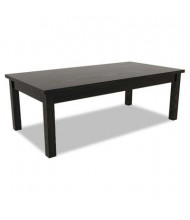 Alera Valencia VA7548BK Black Occasional  Coffee Table