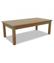 Alera Valencia VA7548MC Medium Cherry Corner Occasional Table