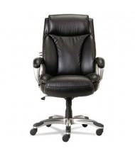 Alera Veon VN4119 Leather High-Back Executive Chair, Black
