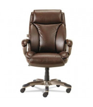 Alera Veon VN4159 Leather High-Back Executive Office Chair, Brown