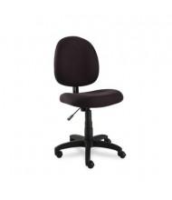 Alera Essentia VT48FA Acrylic Fabric Mid-Back Task Chair, Black