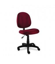 Alera Essentia VT48FA Acrylic Fabric Mid-Back Task Chair, Burgundy