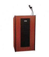 AmpliVox Presidential Plus Lectern with Sound System, Mahogany