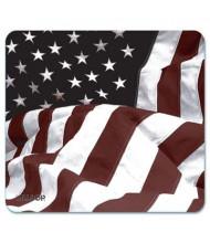 "Allsop Naturesmart 8-3/5"" x 8"" Mouse Pad, American Flag Design"