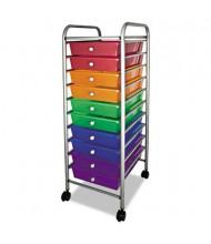 Advantus Portable 10-Drawer Organizer