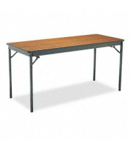 "Barricks 60"" W x 24"" D Rectangular Laminate Folding Table"