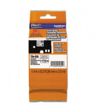 """Brother TZECL6 1-1/2"""" Tape Electronic Dry Process Labeling System Cleaning Cartridge, 100 Uses"""