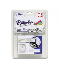 "Brother P-Touch TZEMQ934 TZe Series 1/2"" x 16.4 ft. Standard Labeling Tape, Gold/Silver"