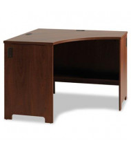 "Office Connect PR76520 43"" W x 43"" D Envoy Corner Desk Shell, Hansen Cherry"