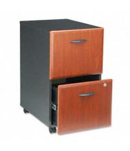Bush WC94452SU 2-Drawer File/File Mobile Pedestal File, Hansen Cherry