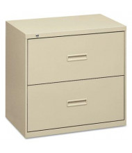 "Basyx 482LL 2-Drawer 36"" Wide Lateral File Cabinet, Letter & Legal Size, Putty"