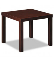 Basyx BLH3170N Mahogany Laminate End Table
