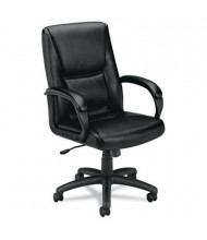 Basyx VL161 High-Back Leather Executive Chair