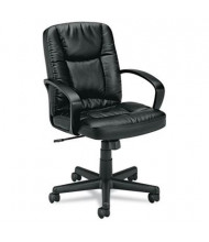 Basyx VL171SB11 Mid-Back Leather Executive Chair