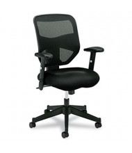 Basyx VL531 Mesh-Back Fabric High-Back Task Chair