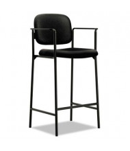 Basyx VL636 2-Pack Fabric Cafe-Height Stool