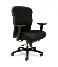 Basyx VL705 Big & Tall 450 lb. Mesh Fabric Mid-Back Task Chair