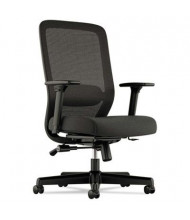 Basyx VL721 Mesh-Back Fabric High-Back Executive Chair