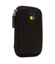 Case Logic Molded EVA Portable Hard Drive Case, Black