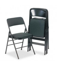 Bridgeport 36885CV Deluxe Fabric Folding Chair, 4-Pack