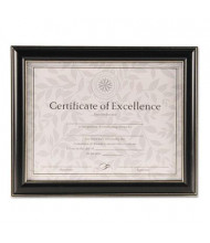 "DAX Office Solutions Black Plastic Document Frame, 10.25"" W x 12.75"" H"