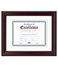 "DAX Rosewood Document Frame, 11"" W x 14"" H"