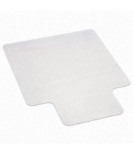 "deflect-o EconoMat Low Pile Carpet 36"" W x 48"" L with Lip, Straight Edge Chair Mat CM11112"