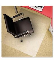 """deflect-o Plush Carpet 45"""" W X 53"""" L, Straight Edge Chair Mat CM11242PC"""