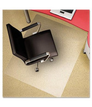 "Deflect-o Plush Carpet 46"" W x 60"" L, Straight Edge Chair Mat CM11442FPC"