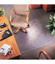 "deflect-o SuperMat Medium Pile Carpet 36"" W x 48"" L with Lip, Beveled Edge Chair Mat CM14113"