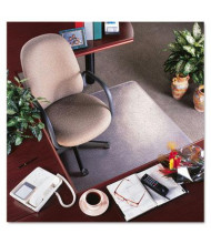 "deflect-o RollaMat Medium Pile Carpet 36"" W x 48"" L with Lip, Beveled Edge Chair Mat CM15113"