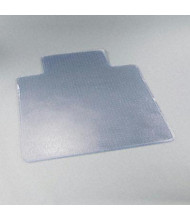 "deflect-o ExecuMat Plush Carpet 45"" W X 53"" L with Lip, Beveled Edge Chair Mat CM17233"