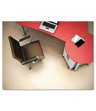 "Deflect-o Hard Floor 45"" W x 53"" L Straight Edge Chair Mat CM21242PC"