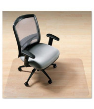 "Deflect-o EnvironMat Hard Floor 36"" W x 48"" L with Lip, Straight Edge Chair Mat"