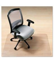 "Deflect-o EnvironMat Hard Floor 45"" W x 53"" L with Lip, Straight Edge Chair Mat CM2G232"