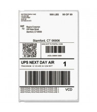 """Dymo LabelWriter 4"""" x 6"""" Shipping Labels, White, 200/Pack"""