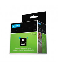 "Dymo LabelWriter 30370 2"" x 2-15/16"" Multipurpose Labels, White, 250/Pack"