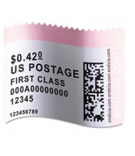 """Dymo LabelWriter 1-5/8"""" x 1-1/4"""" Postage Stamp Labels, White, 200/Pack"""