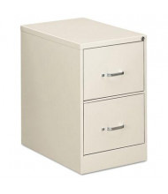 "OIF 22207 2-Drawer 26.5"" Deep Economy Vertical File Cabinet, Legal Size, Light Gray"