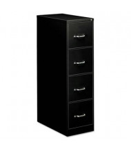 "OIF 41109 4-Drawer 26.5"" Deep Economy Vertical File Cabinet, Letter Size, Black"