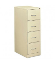"OIF 42206 4-Drawer 26.5"" Deep Economy Vertical File Cabinet, Legal Size, Putty"
