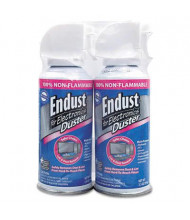 Endust 3.5oz Nonflammable Compressed Gas Duster, 2/Pack