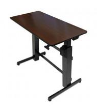 "Ergotron WorkFit-D 31"" - 51"" H Rectangular Adjustable Sit-Stand Desk"