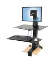 Ergotron WorkFit-S Sit-Stand Workstation Mount with Worksurface